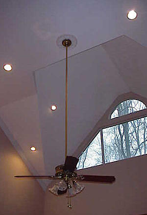 Installing a ceiling fan sleek home mozeypictures Choice Image